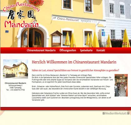 Chinarestaurant Mandarin