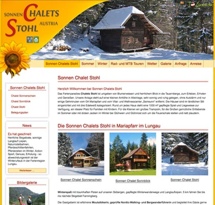 Sonnen Chalets Stohl